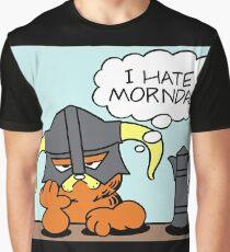 The Lasagnaborn (Cyan Version) Graphic T-Shirt
