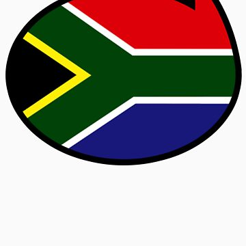 South Africa Soccer / Football Fan Shirt / Sticker by funaticsport