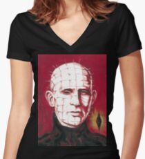 Pinhead Women's Fitted V-Neck T-Shirt