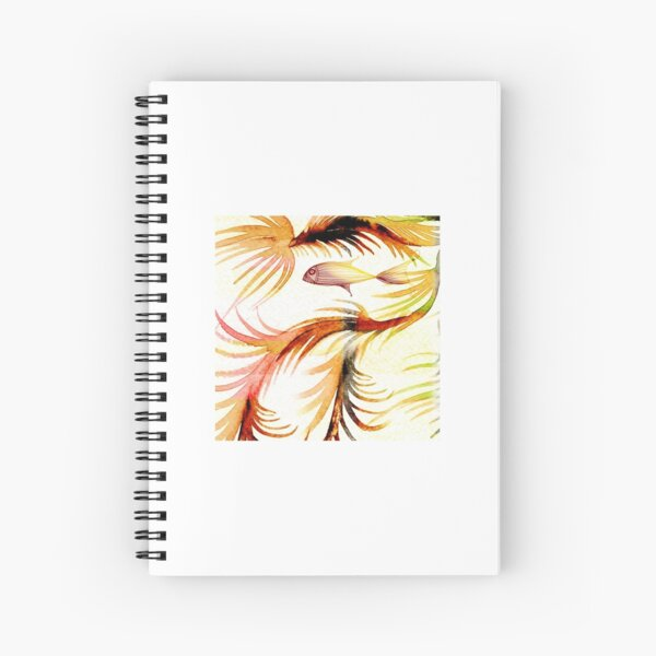 frondfish detail Spiral Notebook