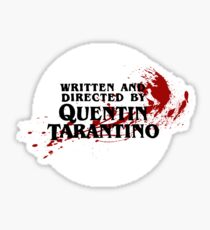 Quentin Tarantino (Transparent) Sticker