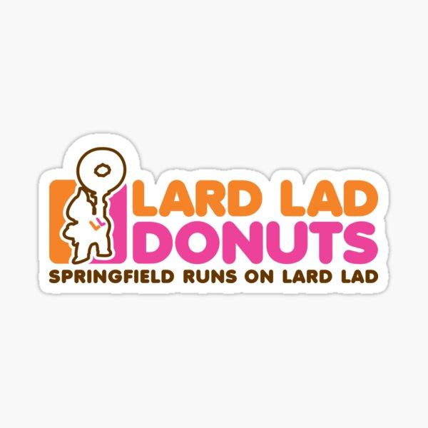 Lard Lad Donuts Pegatina