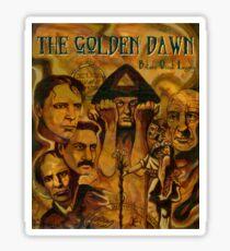 The Golden Dawn Sticker