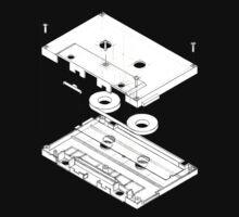 Exploded Cassette Tape  | Unisex T-Shirt
