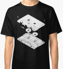 Exploded Cassette Tape  Classic T-Shirt