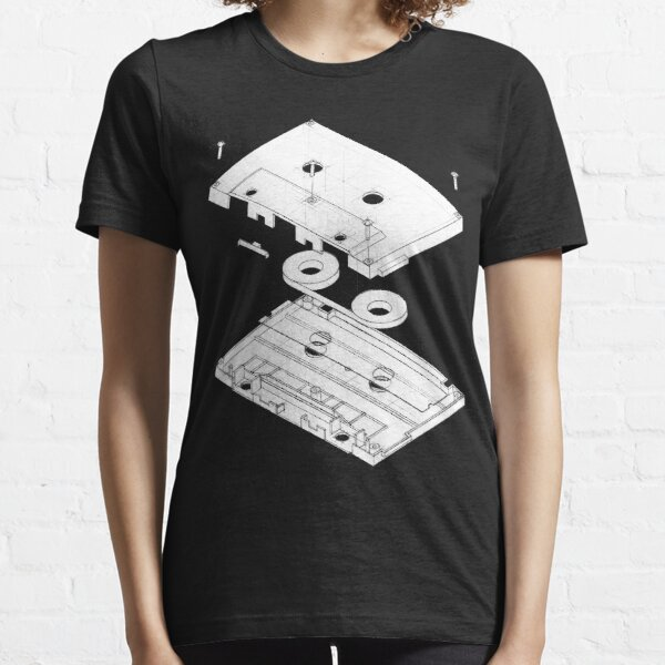 Exploded Cassette Tape  Essential T-Shirt