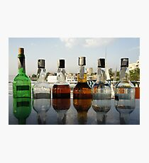 booze on the river nile Photographic Print