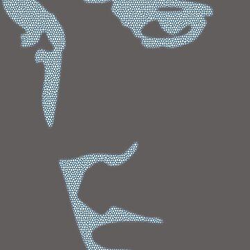 King of Rock n Roll silhouette  by HomeTimeArt