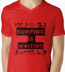 Surfing Is Waiting T-Shirt