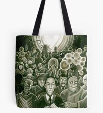 HP Lovecraft At The Movies Tote Bag