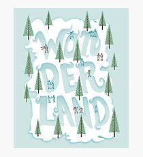 Wonderland Photographic Print