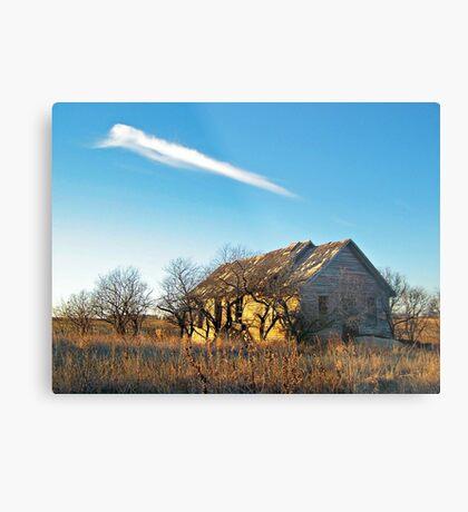 Prairie Memories Metal Print