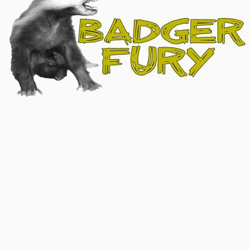 Badger Fury by ItsBadger