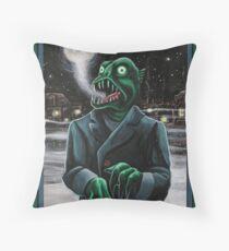 Innsmouth Winter Throw Pillow