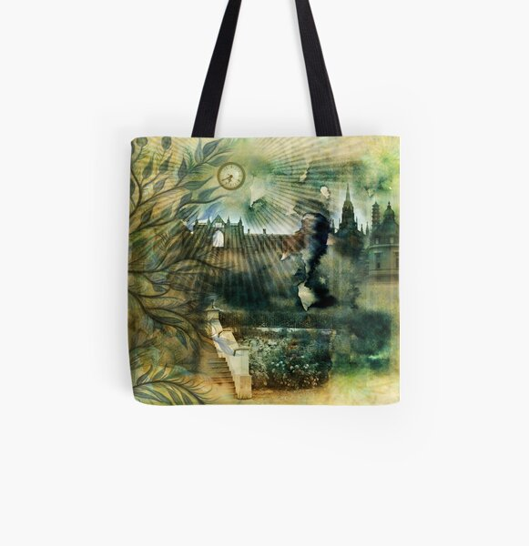 Places in Times All Over Print Tote Bag