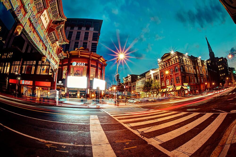 Washington Chinatown by Nicolas Goulet