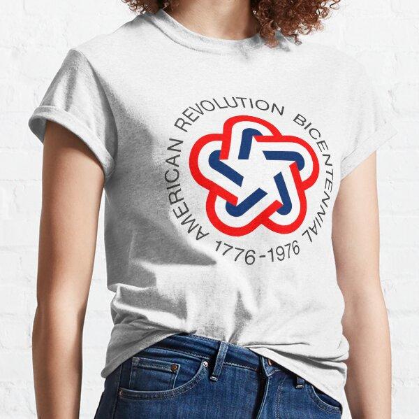 American Revolution Bicentennial 1776 - 1976  Classic T-Shirt