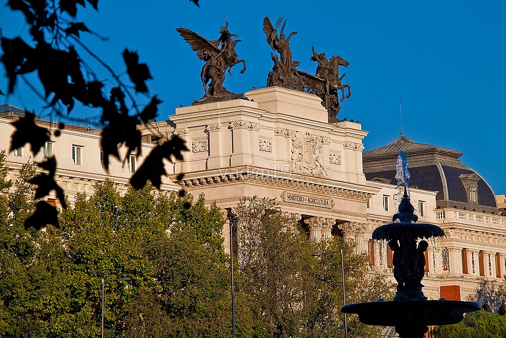 Spain. Madrid. Ministry of Agriculture. by vadim19