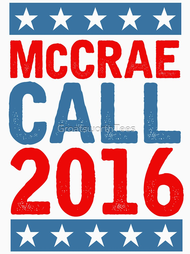 TShirtGifter presents: McCrea / Call 2016 Presidential Campaign - Lonesome Dove  | Unisex T-Shirt