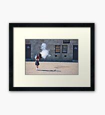 firing Framed Print