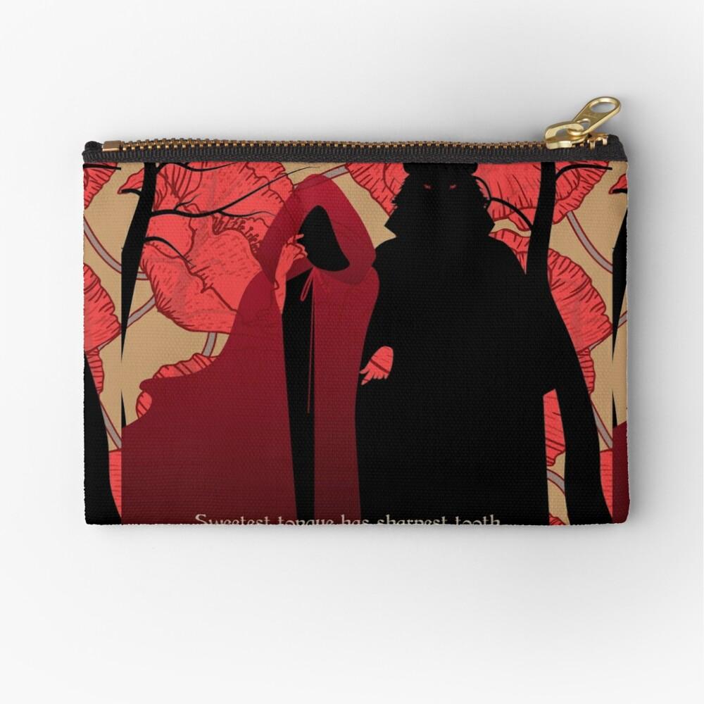 Little Red Riding Hood Zipper Pouch
