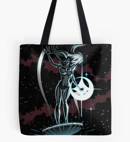 Lady Surfer Tote Bag