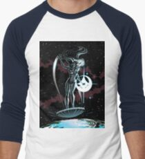 Lady Surfer Men's Baseball ¾ T-Shirt