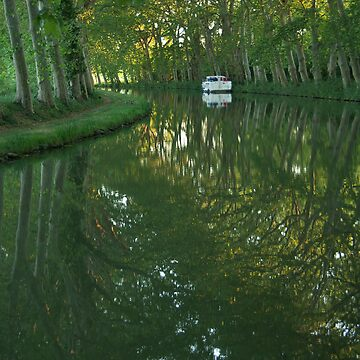 Canal du Midi, Provence, France by MarieWatt