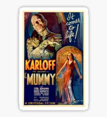 Mummy - Boris Karloff Sticker