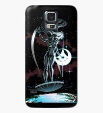 Lady Surfer Case/Skin for Samsung Galaxy