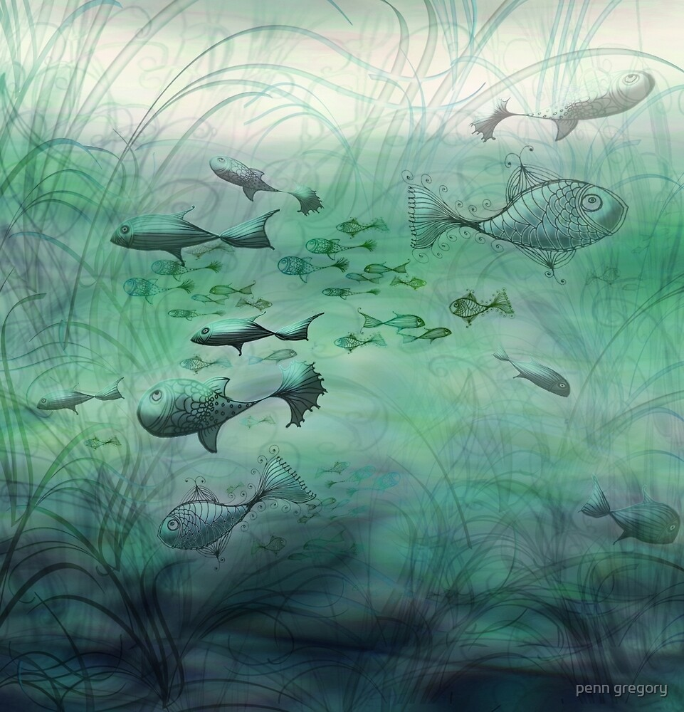 multi-fishes by penn gregory