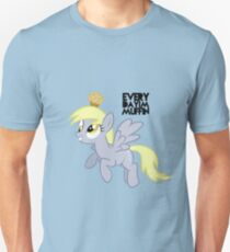 Everyday I'm Muffin Derpy Hooves  T-Shirt