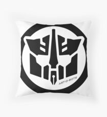 Art-O-Bots Throw Pillow