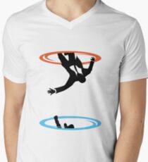 Draper Falls Men's V-Neck T-Shirt