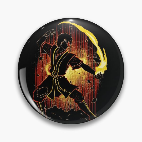 Shadow of the Firebender Pin