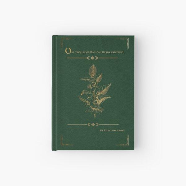 """Diario """"Mil hierbas y hongos mágicos"""" Cuaderno de tapa dura"""