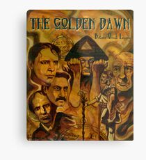 The Golden Dawn Metal Print