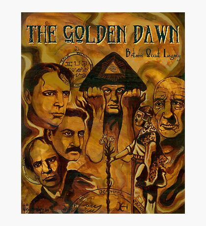 The Golden Dawn Photographic Print