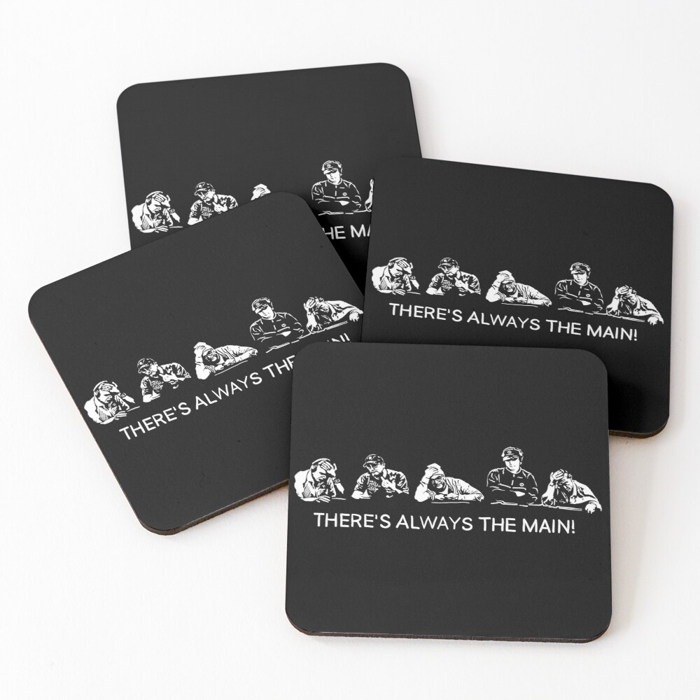 There's always the Main Coasters (Set of 4)