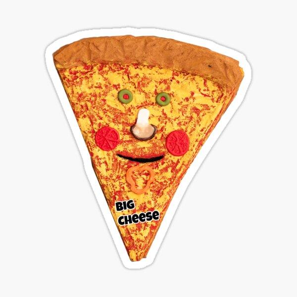 Wump Mucket Puppets Big Cheese merchandise Sticker