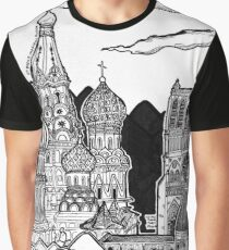 Cathedrals as Landscape Graphic T-Shirt