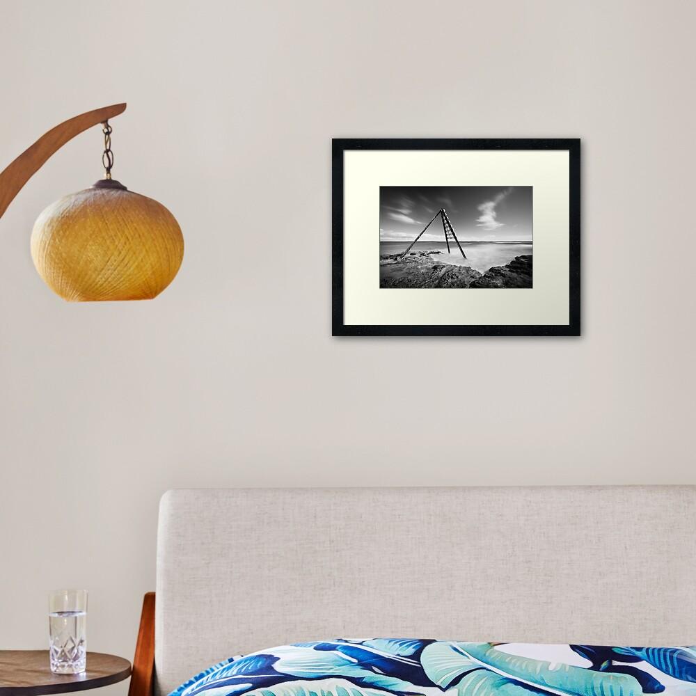 Signal - Ricketts Point Framed Art Print