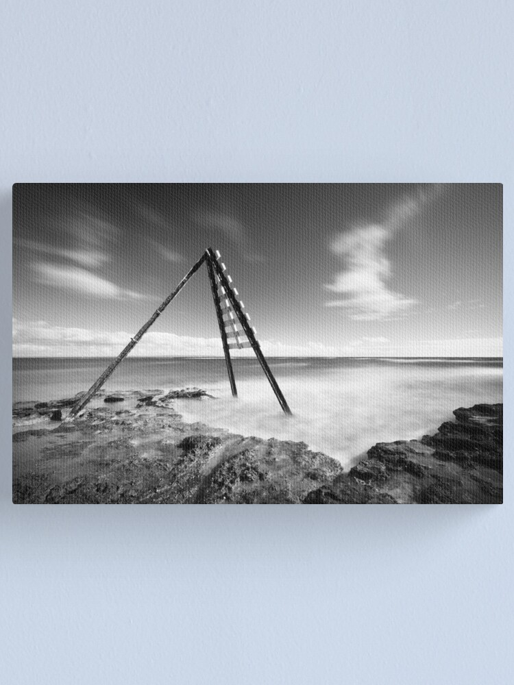 Alternate view of Signal - Ricketts Point Canvas Print