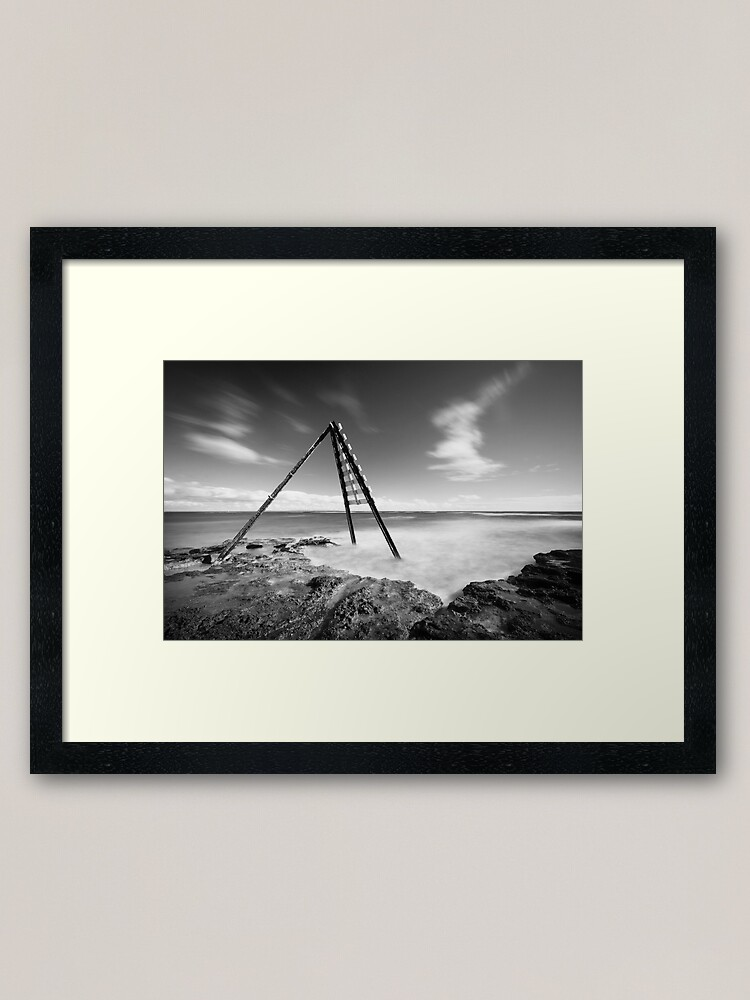 Alternate view of Signal - Ricketts Point Framed Art Print