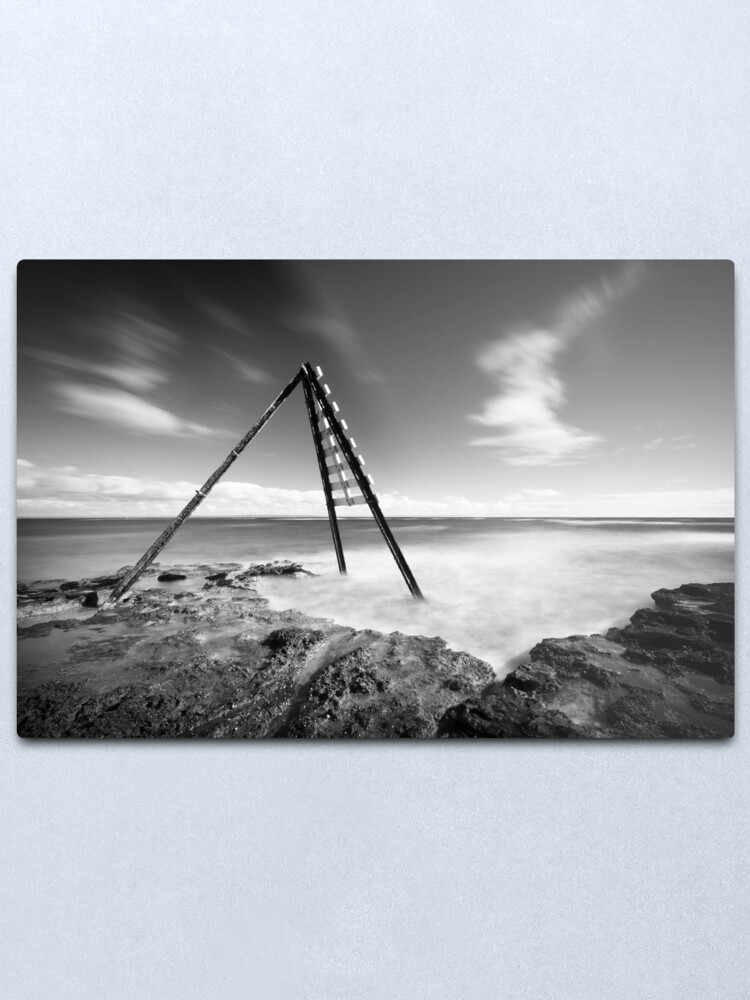 Alternate view of Signal - Ricketts Point Metal Print