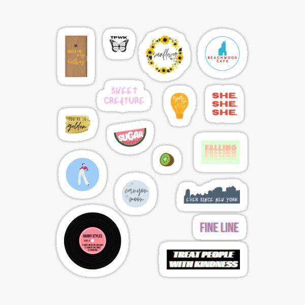Pack - Mixed Fine Line Sticker