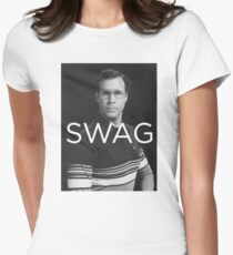 Will Ferrell SWAG Women's Fitted T-Shirt