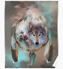 Wolf - Dreams Of Peace Poster