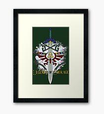 Legends of Courage  Framed Print