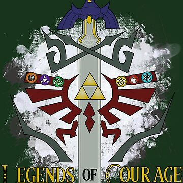 Legends of Courage  by AquaMoon